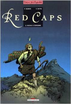 Couverture de Red Caps, Tome 2 : Flèche à Tonnerre