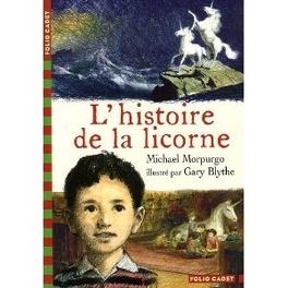 Couverture du livre : L'histoire de la licorne