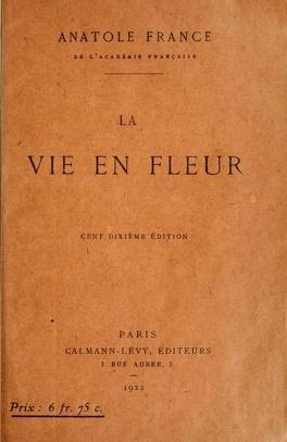 Couverture du livre : La Vie en fleur