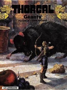 Couverture du livre : Thorgal, tome 22 : Géants