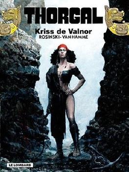 Couverture du livre : Thorgal, tome 28 : Kriss de Valnor