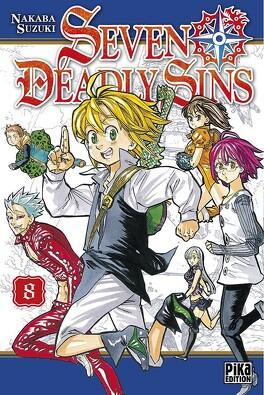 Couverture du livre : Seven Deadly Sins, Tome 8