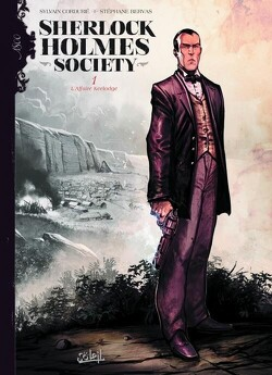 Couverture de Sherlock Holmes Society, tome 1 : L'affaire Keelodge