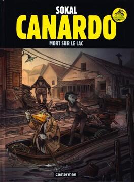 Couverture du livre : Une enquête de l'inspecteur Canardo, tome 23 : Mort sur le lac