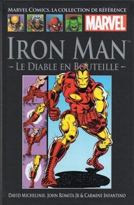 Couverture du livre : Iron Man : Le Diable en bouteille