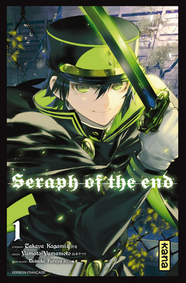 Couverture du livre : Seraph of the end, Tome 1
