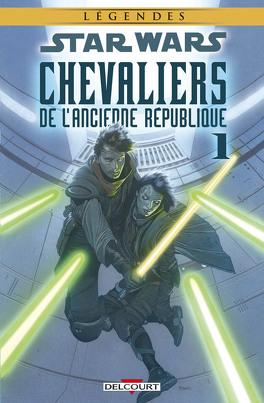 Couverture du livre : Star Wars Chevaliers de l'ancienne République, Tome 1 : Il y a bien longtemps...