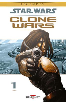 Couverture du livre : Star Wars : Clone Wars, tome 1 : La Défense de Kamino