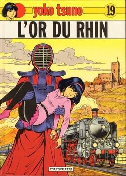Couverture de Yoko Tsuno, Tome 19 : L'Or du Rhin