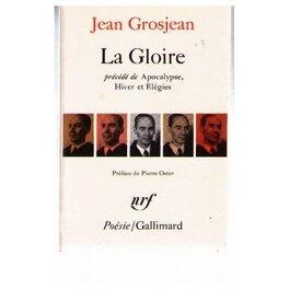 Couverture du livre : La gloire