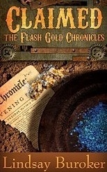 Couverture du livre : Flash Gold Chronicles, Tome 4 : Claimed