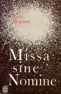 Couverture du livre : Missa sine Nomine