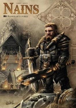 Couverture du livre : Nains, tome 1 : Redwin de la forge