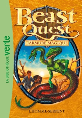 Couverture du livre : Beast Quest, Tome 12 : L'Homme Serpent