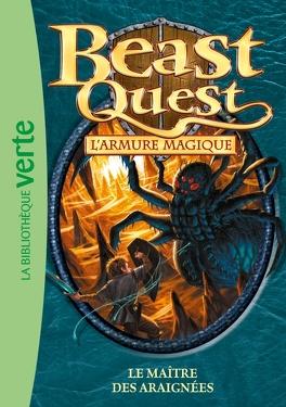 Couverture du livre : Beast Quest, Tome 13 : Le Maître des araignées