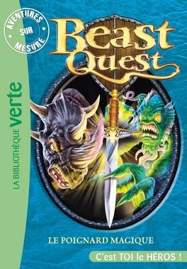 Couverture du livre : Beast Quest, tome 22 : Aventures sur mesure, Le poignard magique