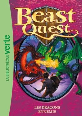 Couverture du livre : Beast Quest, Tome 8 : Les dragons ennemis