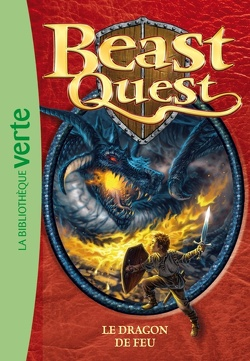Couverture de Beast quest : Volume 1, Le dragon de feu