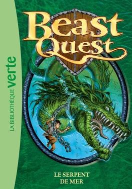 Couverture du livre : Beast quest : Volume 2, Le serpent de mer
