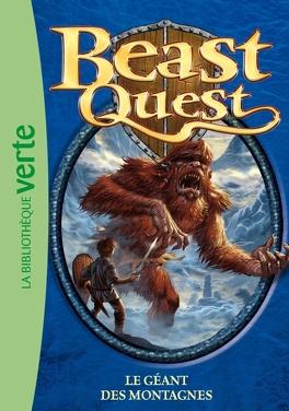 Couverture du livre : Beast quest : Volume 3, Le géant des montagnes