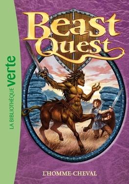 Couverture du livre : Beast quest : Volume 4, L'homme-cheval