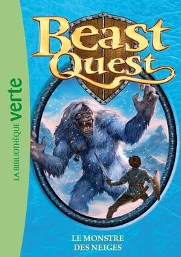 Couverture du livre : Beast quest : Volume 5, Le monstre des neiges