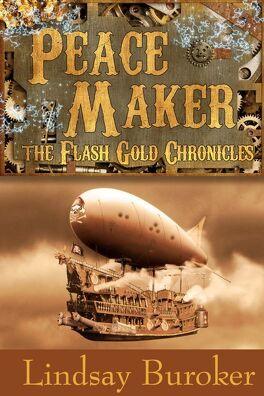 Couverture du livre : Flash Gold Chronicles, Tome 3 : Peacemaker