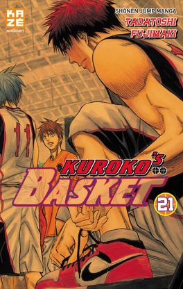 Couverture du livre : Kuroko's Basket, Tome 21