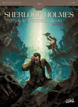 Couverture de Sherlock Holmes & le Necronomicon - Intégrale