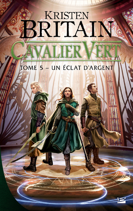 Couverture du livre : Cavalier vert, Tome 5 : Un éclat d'argent