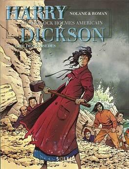 Couverture du livre : Harry Dickson, tome 1 : L'île des possédés (Bd)