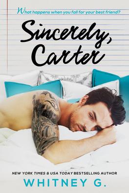 Couverture du livre : Sincerely, Carter