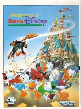 Aventures A Euro Disney Livre De Jacques Lelievre Romano