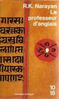 Le Professeur d'anglais - Livre de R.K. Narayan
