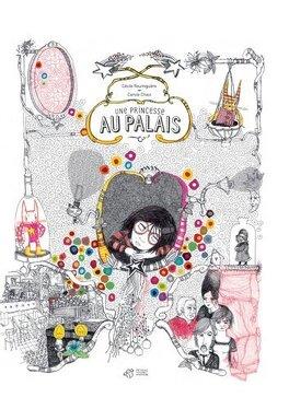 Couverture du livre : Une princesse au palais