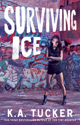 Couverture du livre : Burying Water, Tome 4 : Surviving Ice