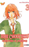 Hibi Chouchou - Edelweiss & Papillons, tome 3