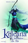 couverture Keleana, tome 3 : L'héritière du feu