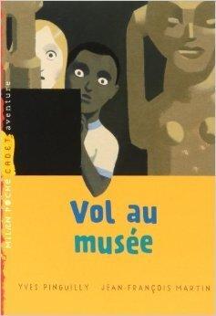 Couverture du livre : Vol au musée