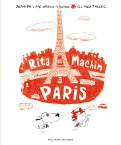 Couverture du livre : Rita et Machin à Paris