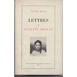 Couverture du livre : Lettres à Juliette Drouet