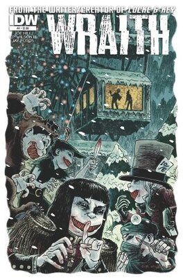 Couverture du livre : The Wraith : Welcome To Christmasland, Tome 4