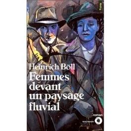 Couverture du livre : Femmes devant un paysage fluvial