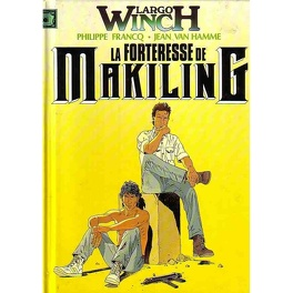 Couverture du livre : Largo Winch, Tome 7: La forteresse de Makiling