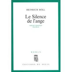 Couverture de Le silence de l'ange