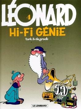 Couverture du livre : Léonard, Tome 4 : Hi-Fi Génie
