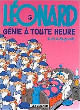 Couverture du livre : Léonard, Tome 5 : Génie à toute heure