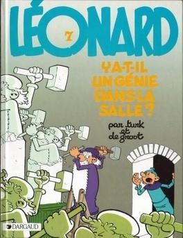 Couverture du livre : Léonard, Tome 7 : Y a-t-il un génie dans la salle ?