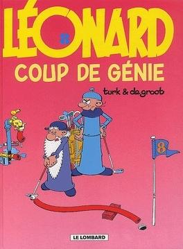 Couverture du livre : Léonard, Tome 8 : Coup de génie