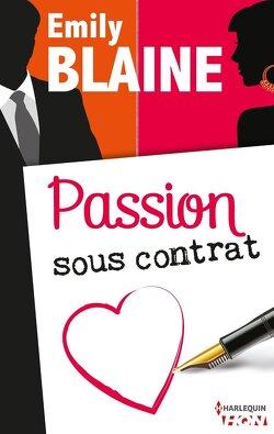Couverture de Passion sous contrat